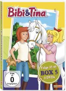 Bibi & Tina Box 5 (Folge 37-45), 3 DVDs