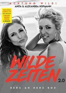 Anita & Alexandra Hofmann: Wilde Zeiten 2.0 (Herz an Herz Box), 2 CDs, 1 Single-CD und 1 Merchandise