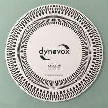 Dynavox Tonabnehmer-Einstelllehre/Stroboskop-, Zubehör