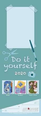 Do-it-Yourself Bastelkalender 2020 Streifenkalender, Diverse