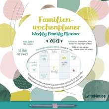 Familien Wochenplaner Dots 2021, Kalender