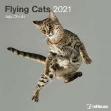 Flying Cats 2021 - Broschürenkalender, Kalender