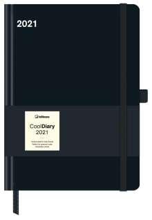 Cool Diary Black 2021 Wochenkalender 16x22, Buch