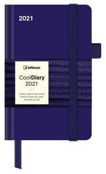 Blue 2021 - Diary - Buchkalender - Taschenkalender, Kalender