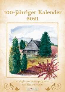 100-jähriger Kalender 2021, Kalender