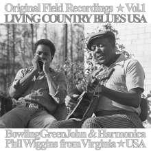 Bowling Green John Cephas & Harmonica Phil Wiggins: Original Field Recordings Vol.1 - Living Country Blues USA, LP