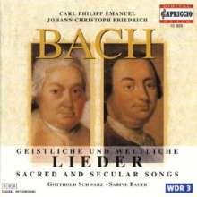Johann Christoph Friedrich Bach (1732-1795): Lieder, CD