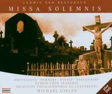 Ludwig van Beethoven (1770-1827): Missa Solemnis op.123, 1 CD und 1 DVD