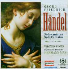 Georg Friedrich Händel (1685-1759): Kantaten, Super Audio CD