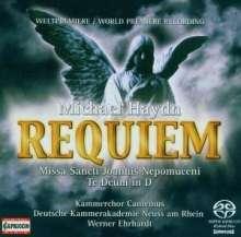 Michael Haydn (1737-1806): Requiem c-moll, Super Audio CD