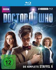 Doctor Who Season 6 (Blu-ray), 6 Blu-ray Discs