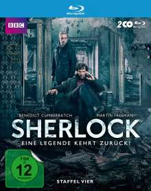 Sherlock Staffel 4 (Blu-ray), 2 Blu-ray Discs