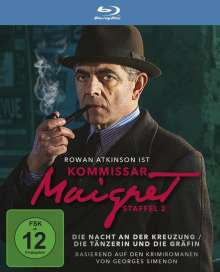 Kommissar Maigret: Die Nacht der Kreuzung / Die Tänzerin und die Gräfin (Blu-ray), Blu-ray Disc
