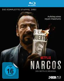 Narcos Staffel 3 (Blu-ray), 3 Blu-ray Discs