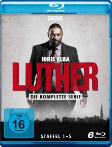 Luther (Komplette Serie) (Blu-ray), 6 Blu-ray Discs