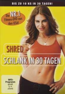 Shred - Schlank in 30 Tagen, DVD