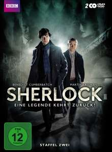 Sherlock Staffel 2, 2 DVDs