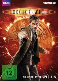 Doctor Who - Die kompletten Specials, 5 DVDs