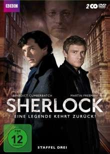 Sherlock Staffel 3, 2 DVDs