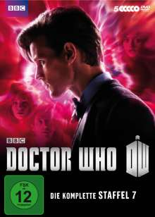 Doctor Who Season 7, 5 DVDs