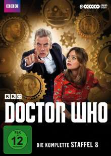 Doctor Who Season 8, 6 DVDs