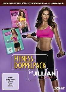Fitness-Doppelpack mit Jillian Michaels: Der perfekte Knack-Po / Extreme Shred, 2 DVDs