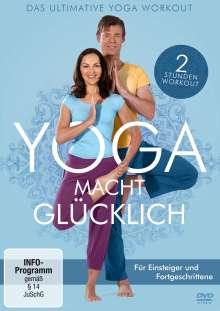 Yoga macht glücklich - Das ultimative Yoga Workout, DVD