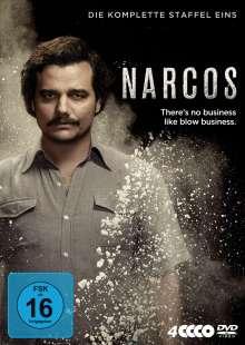 Narcos Staffel 1, 4 DVDs
