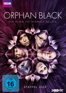 Orphan Black Staffel 4, 3 DVDs