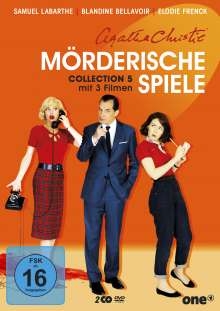 Agatha Christie: Mörderische Spiele Collection 5, 2 DVDs