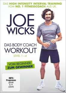 Joe Wicks - Das Body Coach Workout Level 1-4, DVD
