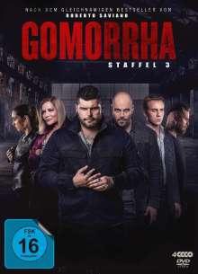 Gomorrha Staffel 3, 4 DVDs