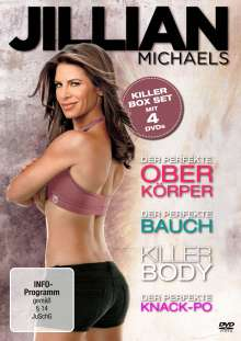 Jillian Michaels - Killer Box Set, 4 DVDs