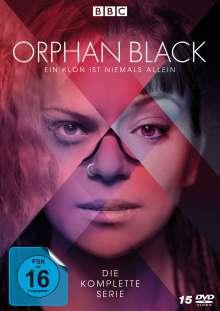 Orphan Black (Komplette Serie), 15 DVDs