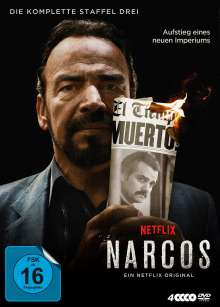 Narcos Staffel 3, 4 DVDs