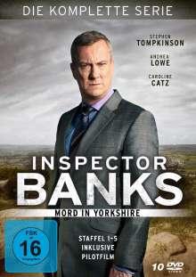 Inspector Banks (Komplette Serie), 10 DVDs