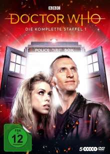 Doctor Who Staffel 1, 5 DVDs