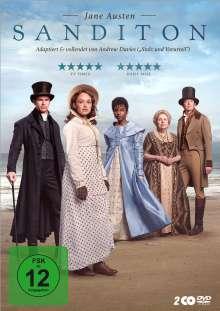 Sanditon (Jane Austen) (TV-Serie), 2 DVDs