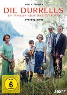Die Durrells Staffel 2, 2 DVDs