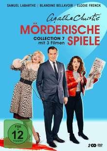 Agatha Christie: Mörderische Spiele Collection 7, 2 DVDs