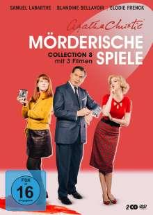 Agatha Christie: Mörderische Spiele Collection 8, 2 DVDs