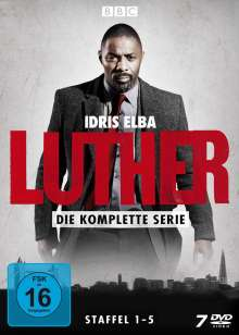 Luther (Komplette Serie), 7 DVDs