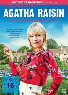 Agatha Raisin Staffel 1-3 (Limitierte Fan-Edition), 7 DVDs