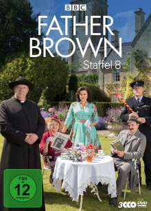 Father Brown Staffel 8, 3 DVDs