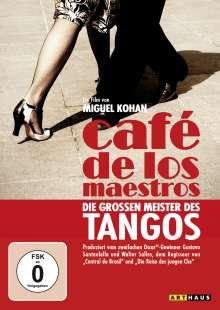Cafe de los Maestros: Die großen Meister des Tangos (OmU), DVD