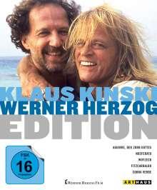 Klaus Kinski / Werner Herzog Edition (Blu-ray), 5 Blu-ray Discs