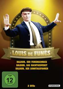 Louis de Funès - Balduin Collection, 3 DVDs