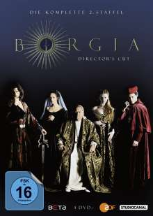 Borgia Staffel 2 (Director's Cut), 4 DVDs