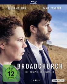 Broadchurch Staffel 1 (Blu-ray), 2 Blu-ray Discs