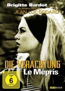 Die Verachtung, DVD